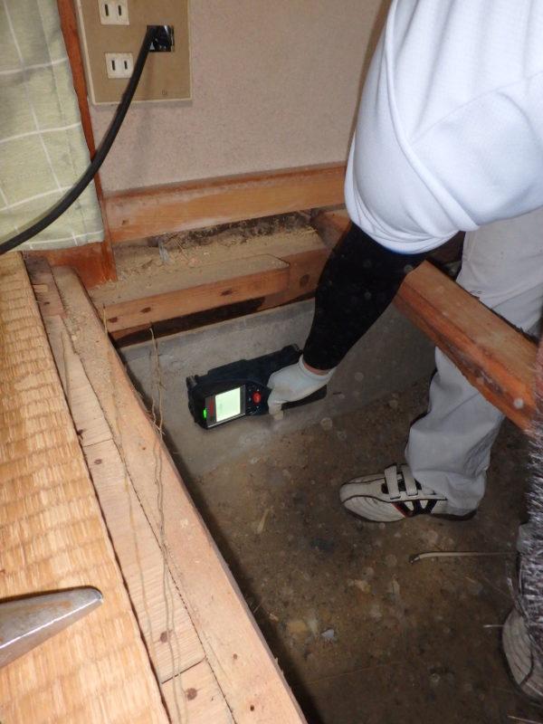 耐震補強工事(リフォーム工事)が始まりました。